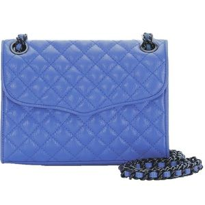 Rebecca Minkoff Mini Quilted Affair Periwinkle NEW